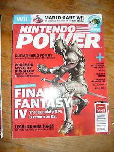 Nintendo Power #228 May 2008 Final Fantasy IV/Pokemon Dungeon/Boom Blox/Lego