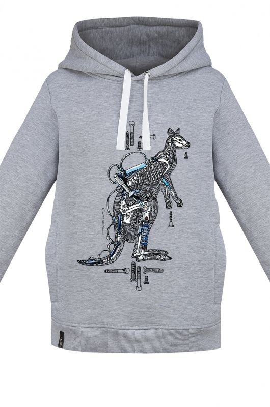 BURRITO MECHANIC KANGAROO UNISEX sweatshirt made of high quality fabric in heather gray. Composition 95 % cotton 5% polyester. Beautifully finished and very comfortable, specially designed with comfort in mind. Very durable print, created specifically for Meet The Llama by our first male graphic designer Matthew Kozik. The series of prints from Matthew is characterized by a combination of mechanical elements with the animal instinct.#meetthellama #hoodie #women #men #graphic #pyjama