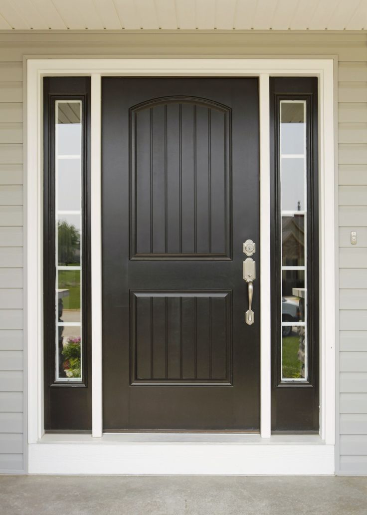 Home Sweet Home Vinyl Door Decal & 36 best Doors images on Pinterest | Front entry Front door colors ... Pezcame.Com