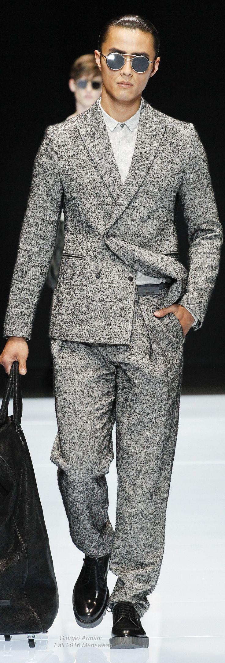 Emporio Armani Fall 2016 Menswear