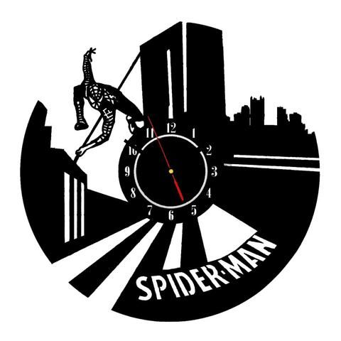 Spider-Man Retro Wall Clock. Get yours while stocks last! #TitanDesignTech #FreeShipping
