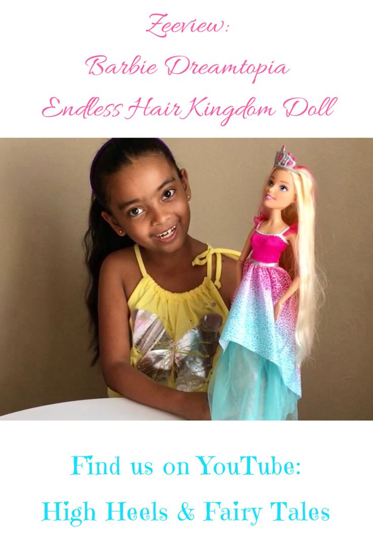 Zeeview: Barbie Dreamtopia Endless Hair Kingdom Princess Doll #barbie #mattel #dreamtopia #kidstoys