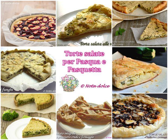 Ricette di torte salate per il menù di Pasqua e Pasquetta