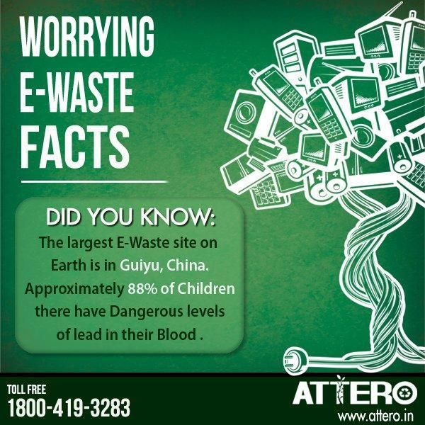 Worrying E Waste Facts Read More At Http Www