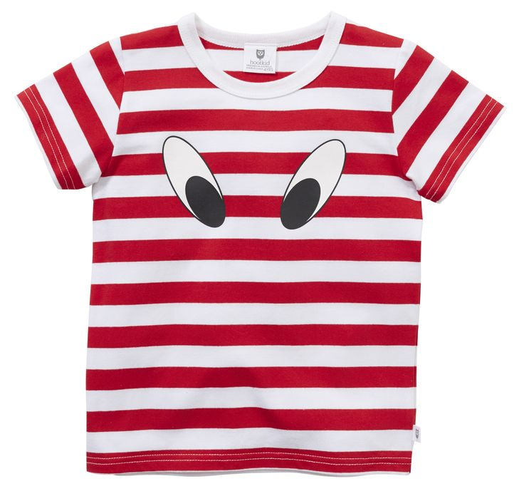 Machiko - a boutique for kids - Hootkid | Red Look Here Tee , $19.95 (http://www.machikobaby.com.au/products/hootkid-red-look-here-tee.html)