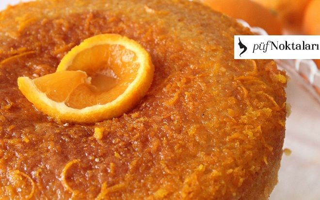 Portakallı Islak Kek Nasıl Yapılır?