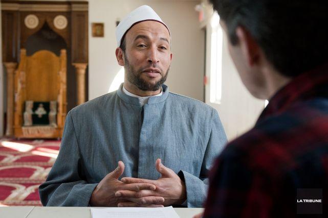 27 janvier 2015 - Une occasion ratée pour Cheik Mohammad Salah, imam de la mosquée sherbrookoise