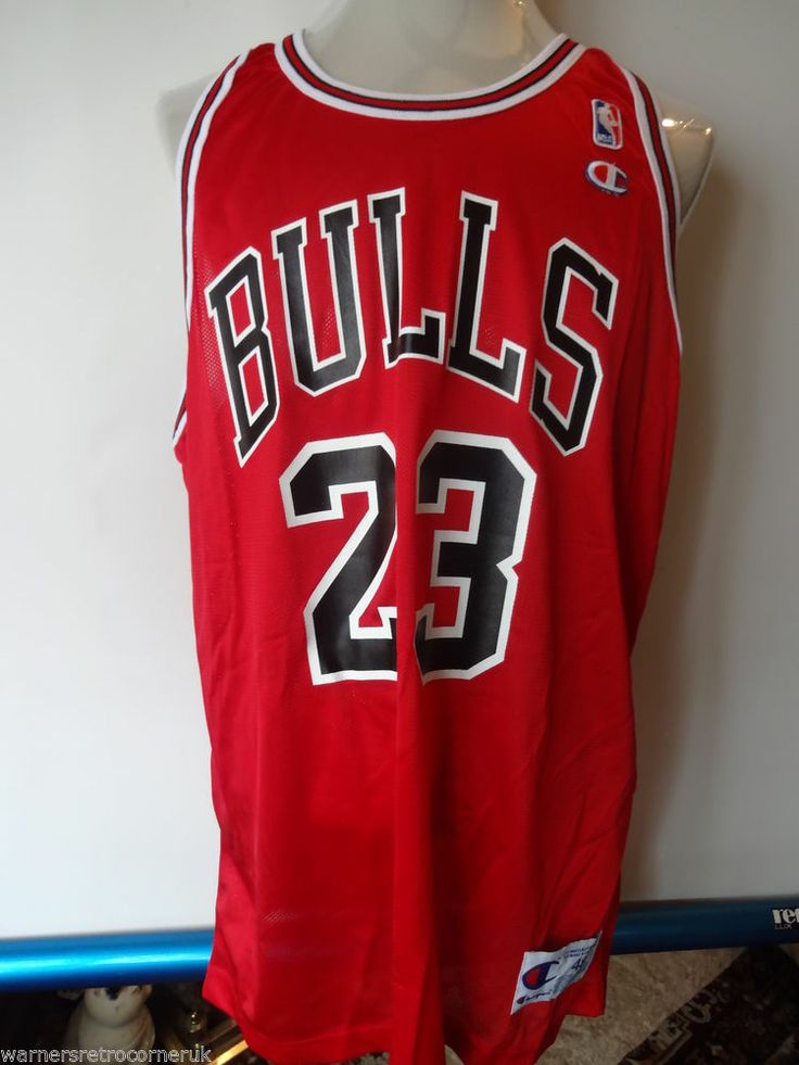 BNWT Vintage Chicago Bulls Jordan Authentic Basketball Champion NBA Jersey shirt