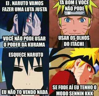 Toma Sasukeeeee!!! Sasuke e Naruto melhores personagens!!!♥