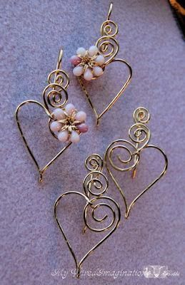 Charming Hearts 2 Earrings in Pink by Bobb... | Jewelry Ideas