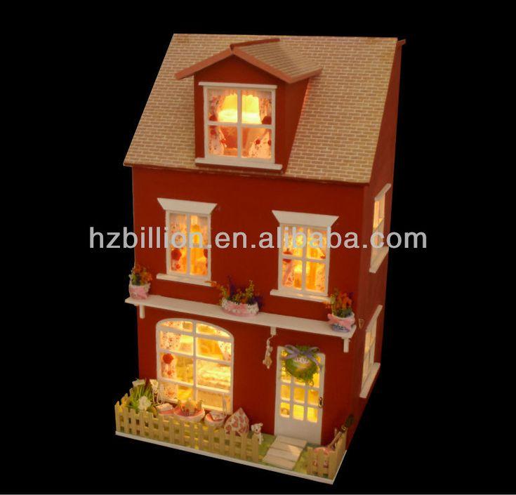 Moda de madeira em miniatura casa de bonecas DIY com luz para brinquedos de natal-imagem-Outros móveis para crianças-ID do produto:700978851-portuguese.alibaba.com