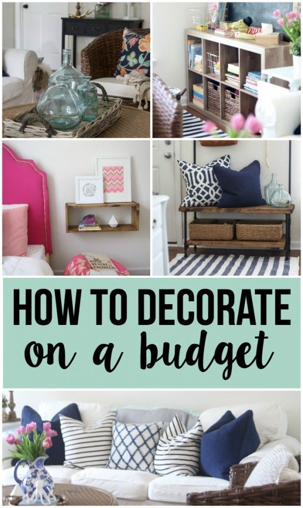 1000 Ideas About Budget Home Decorating On Pinterest