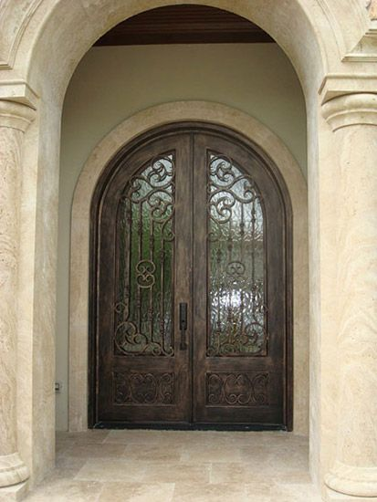 Cousto Wrought Iron Front Doors -These will be mine someday! & 65 best Iron Doors images on Pinterest | Doors Wrought iron doors ... Pezcame.Com