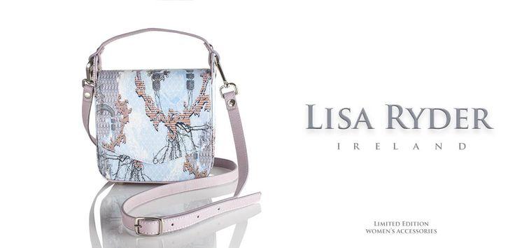Lisa Ryder Designs Irish accessories designer, luxury leather handbags www.lisaryderdesigns.ie