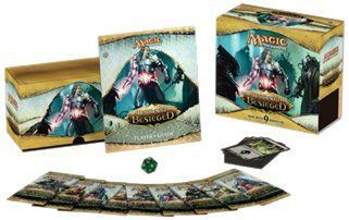 Magic the Gathering - MTG: Mirrodin Besieged - FAT PACK * Fat Packs will now contain nine boosters (instead of eight) * 80 land cards (instead of 40) * Exclusive Spindown life counter & player's guide * card storage box & two 60-card deck boxes * (Placed within the Amazon Associates program) * 18:40 Mar 8 2017