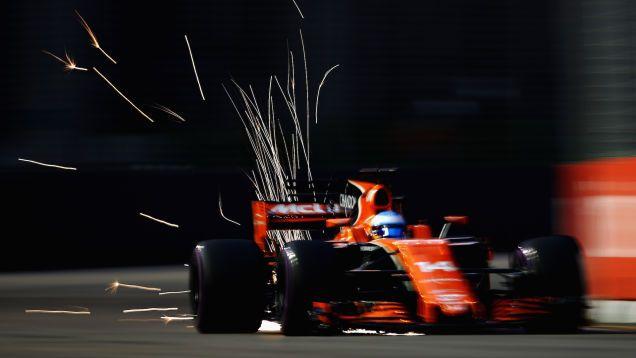 Fernando Alonso, McLaren-Honda (2017)