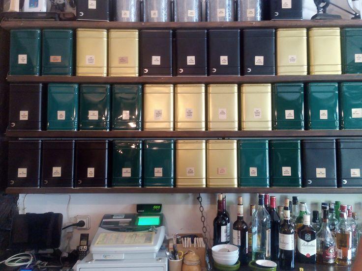 Selección de tés de la Teteria Baobab