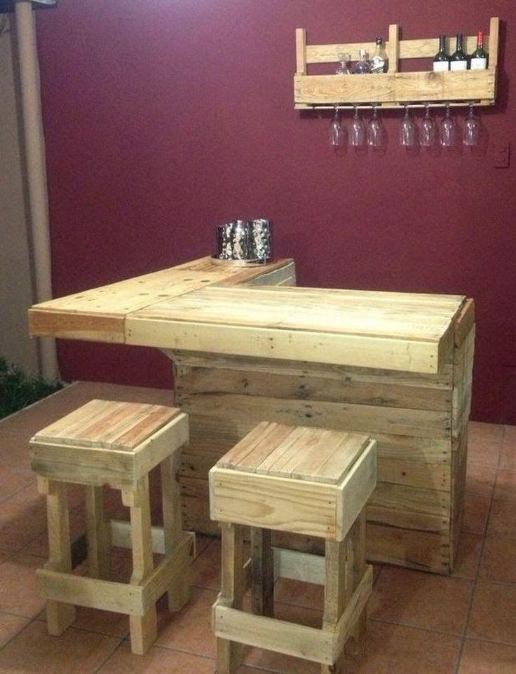 Wood Pallet Bar Project