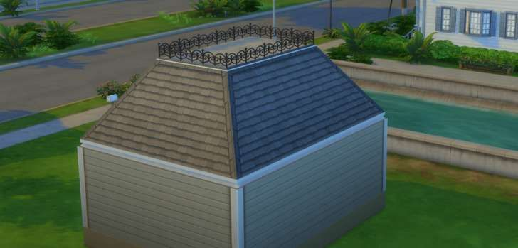 Sims 4 Building How To S Mansard Style Roof Building Roof Roof Roof Cost