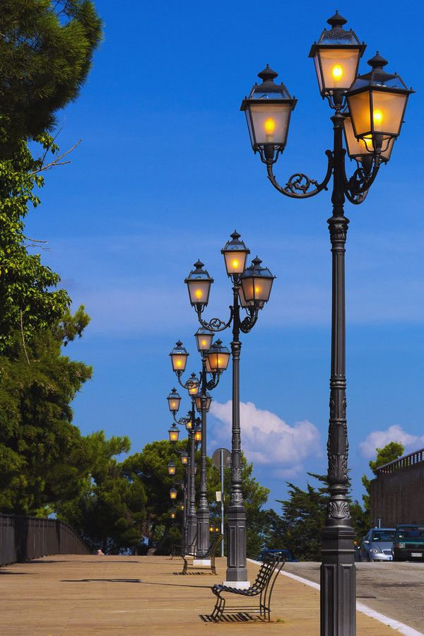 Street Lights of Chieti by Noel McCarthy on 500px