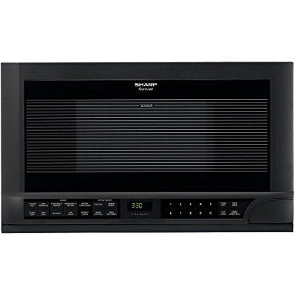 evaluation Sharp 1.5 Cu. Ft. 1100W Over-The-Counter Microwave, Microwave Oven, Black finish prospective buyers not only practical and economical it39s stylish too Available with a variety of today39s most popular features this handy microwave is well suited for the dorm room office cottage or...