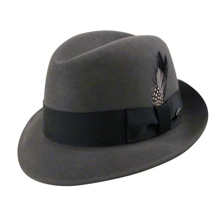 New Yorker Fedora Hat- 1920's mens hat style  http://www.vintagedancer.com/1920s/1920s-style-hats-men/