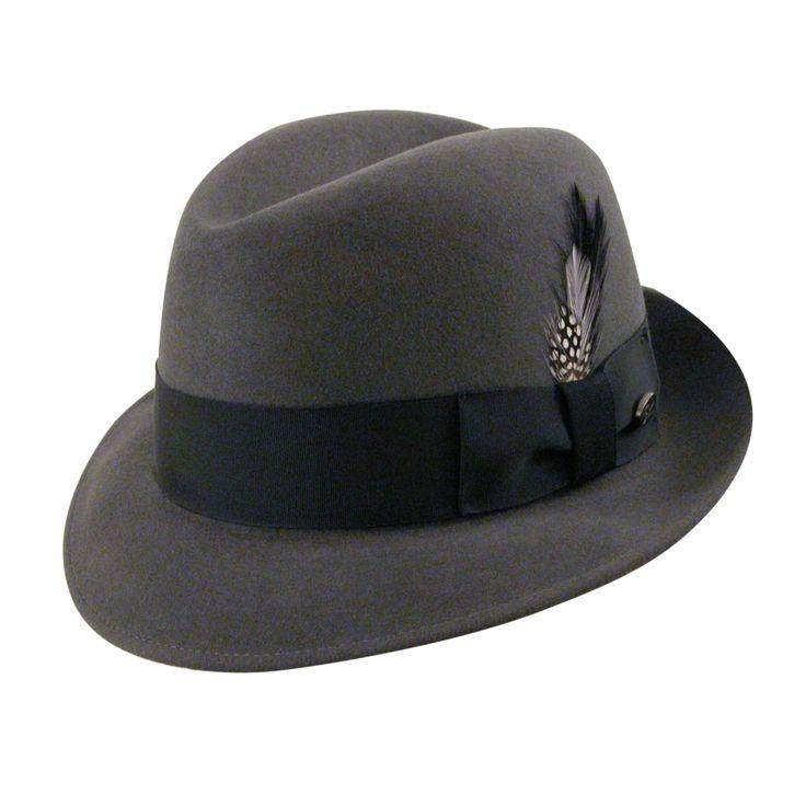New Yorker Fedora Hat- 1920's mens hat style  http://www.vintagedancer.com/1920s/1920s-style-hats-men/