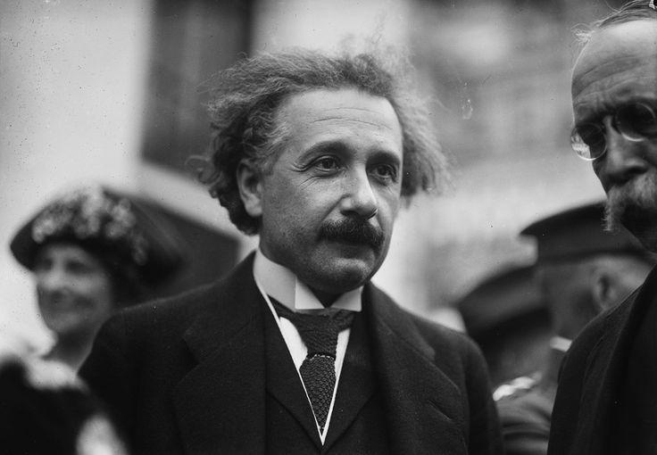 Picture of Albert Einstein in Washington DC