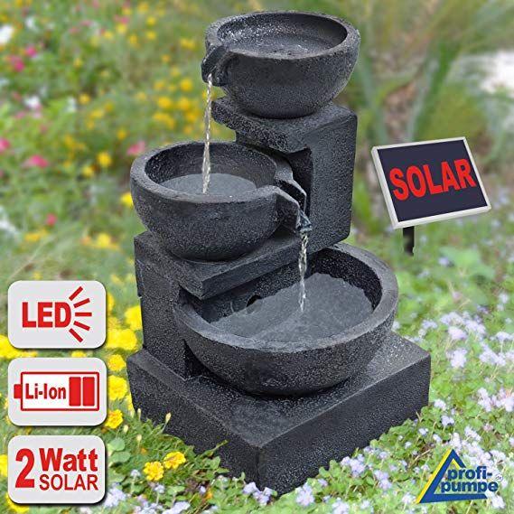 Solar Pumpe Springbrunnen Brunnen Teichpumpe für Gartenteich Wasserspiel