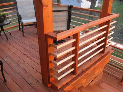 Best Deck Facelift Railing Design 400 x 300