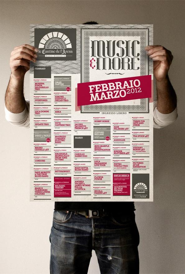 Cantine de L'Arena / Poster