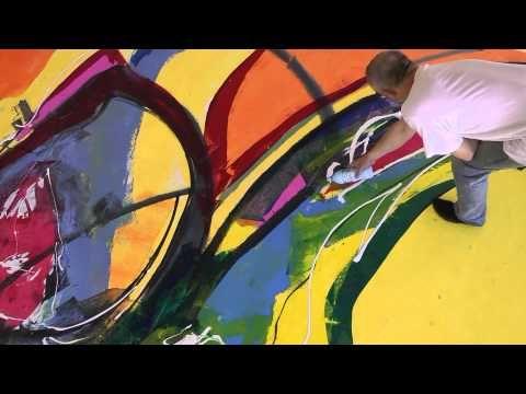 ▶ Abstrakte Kunst - YouTube Prachtig echt vettt !!