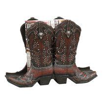 Cowboy Boot Magazine Rack