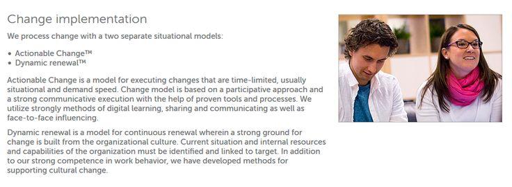 Työskentelemme muutoksissa kahden tilannelähtöisen mallin avulla