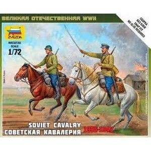 Zvezda Soviet cavalry Model Kit