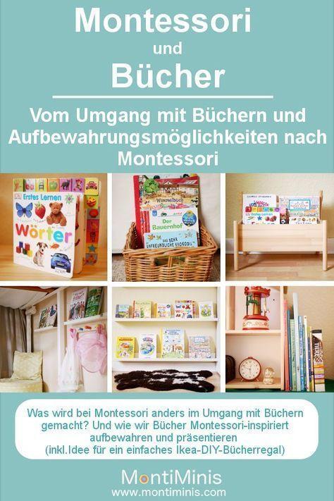 Montessori und Bücher – Umgang mit Büchern und Aufbewahrungsideen   – design the nursery