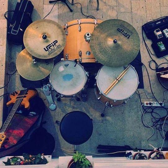 The Drummer's Journal @ottaviobu putting the hours in #drums #drummers #drumming #thedrummersjournal