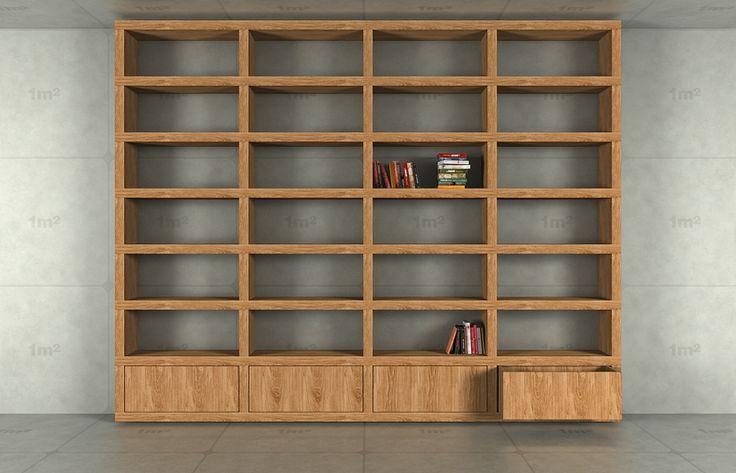 Wnętrza, Półki na książki i biblioteczki - Cellaio dla moli - biblioteczki i półki na książki.