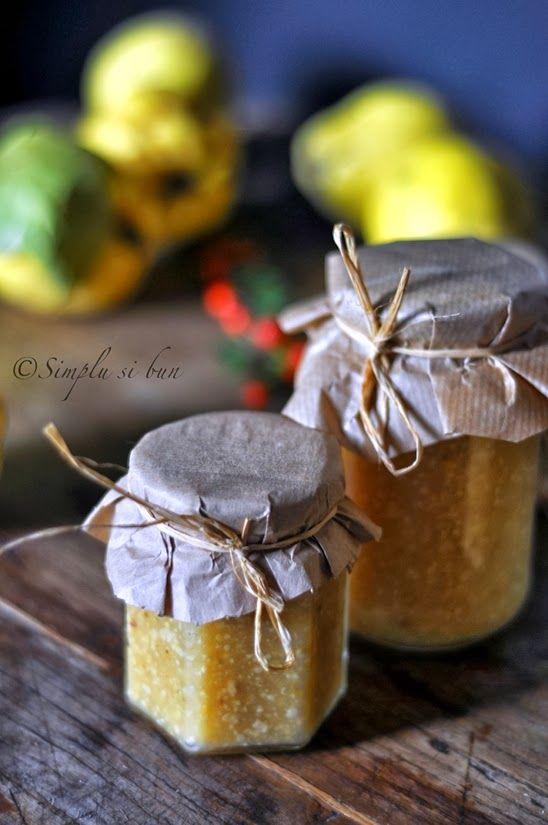 simplu si bun: Mustar de gutui (mostarda di mele cotone)