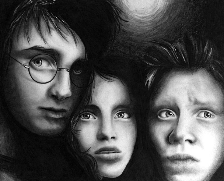 """""""Something Wicked This Way Comes"""" -- Graphite Portrait by Lauren Gowler."""