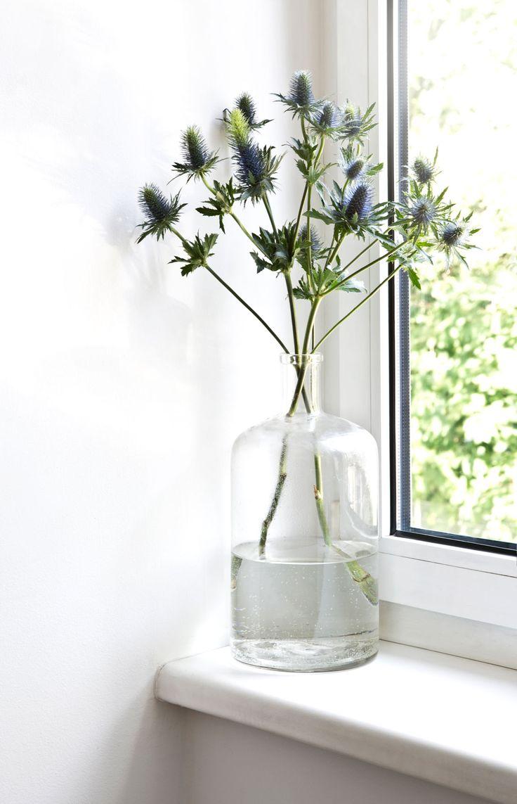 Transparente Vasen und frische Zweige sind in der Wohnung von Carola Pojer nicht erlaubt …   – Zuhause bei… Westwing Homestories