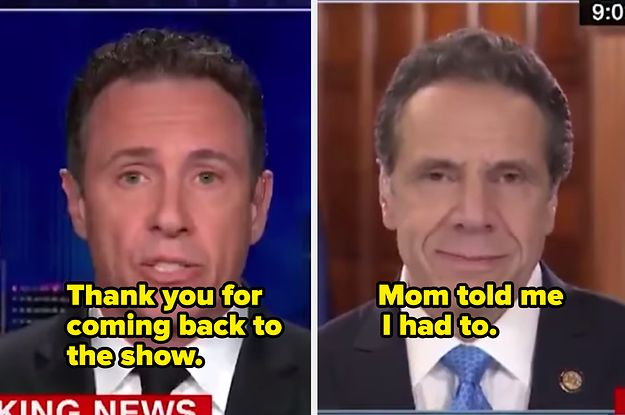 Andrew Cuomo And Chris Cuomo Can T Stop Cracking Jokes About Each Other On Live Tv And It S Glorious In 2020 Chris Cuomo Andrew Cuomo Live Tv