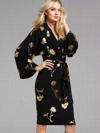 Как сшить платье кимоно