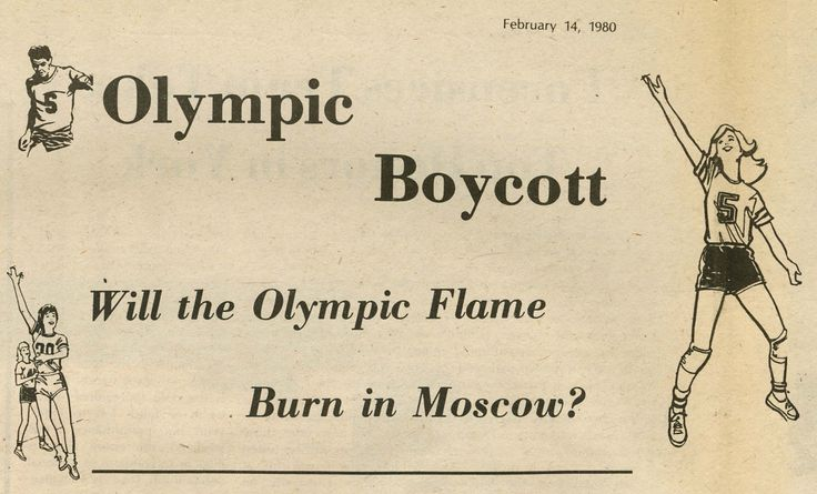 In 1980, the United States (and many other countries) boycotted the Olympic games that year because the games were being held in the Soviet capital of Moscow and the USSR had refused President Jimmy Carter's call to abandon the Soviet invasion of Afghanistan