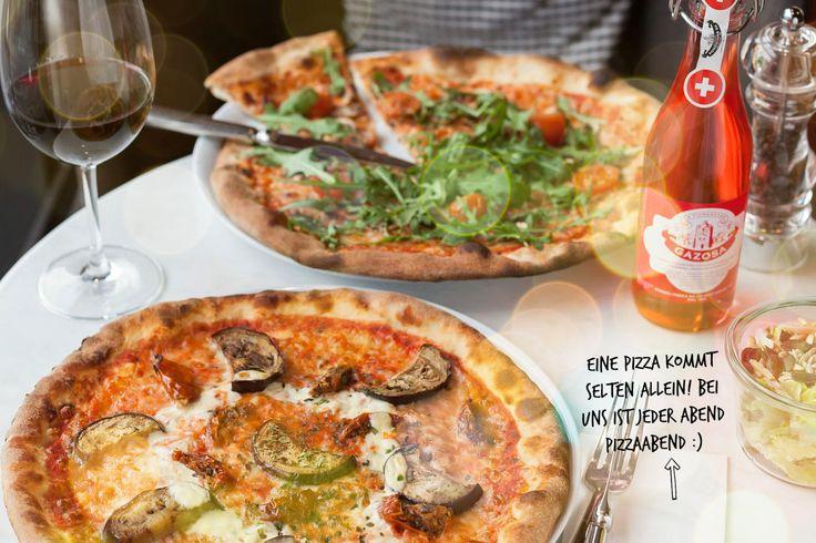 Hand auf, wer Pizza liebt!  Ab sofort gibt's bei uns im SPIGA zwei Pizze Specialità, die ihr unbedingt mal probieren müsst... www.spiga-ristorante.ch