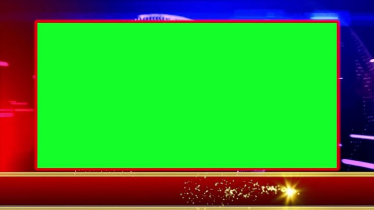 News Background With Animated Lower Third Ticker Moving Gold Light