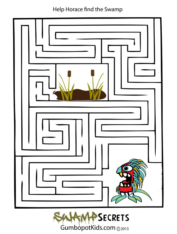 bayou coloring pages - photo#26