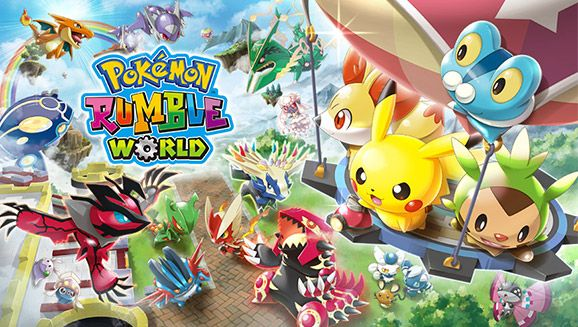 #Pokemon #pokemonrumbleworld #nintendo #nintendo3DS #pikachu