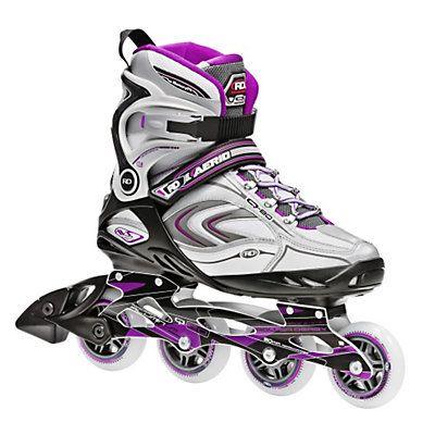 Roller Derby Aerio Q 80 Womens Inline Skates, Purple-Black-White