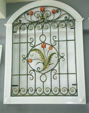 Window-Grill-Design-40 Grades para janelas com flores                                                                                                                                                                                 Mais